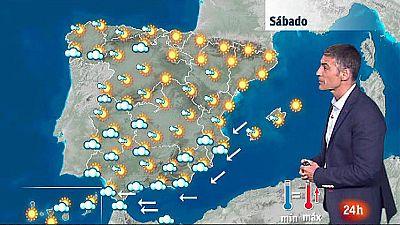 Tiempo estable en casi toda España con temperaturas en ascenso