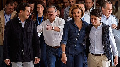 Cospedal ha participado en el congreso de las Nuevas Generaciones del PP
