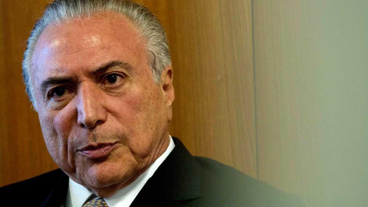 El escándalo de corrupción que sacude Brasil salpica a Temer