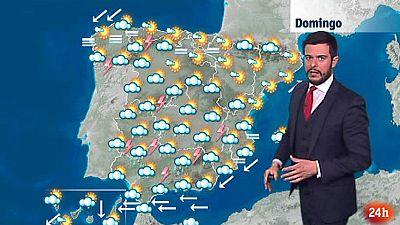 Posibilidad de granizadas fuertes en Andalucía oriental