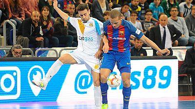 LNFS. Jornada 29. Barcelona Lassa 7-3 Catgas Enería. Resumen - ver ahora