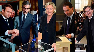 Los candidatos franceses votan en unas unas elecciones cruciales para Europa