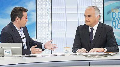 Los desayunos de TVE - Esteban González Pons, portavoz del Partido Popular en el Parlamento Europeo y Juan Manuel Bonet, director del Instituto Cervantes - ver ahora