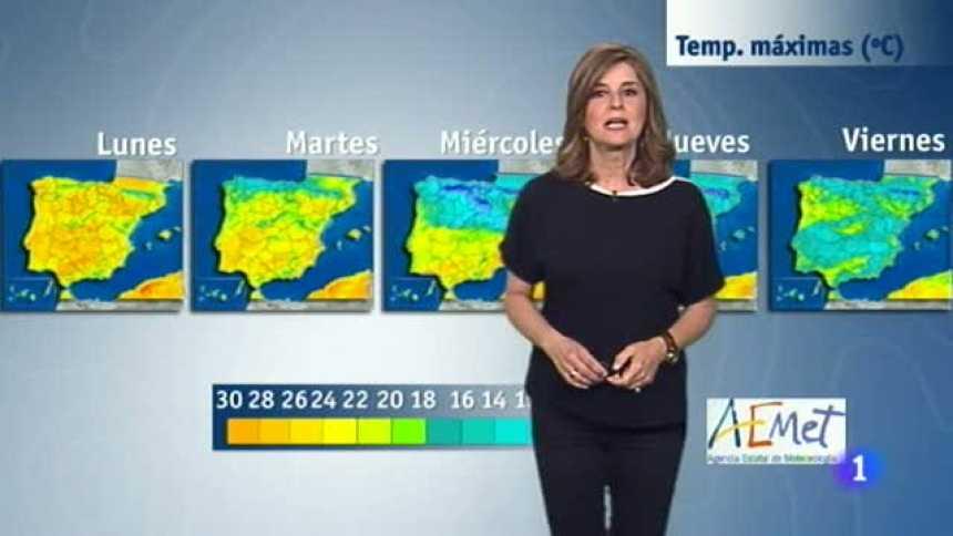 El tiempo en Extremadura - 24/04/17