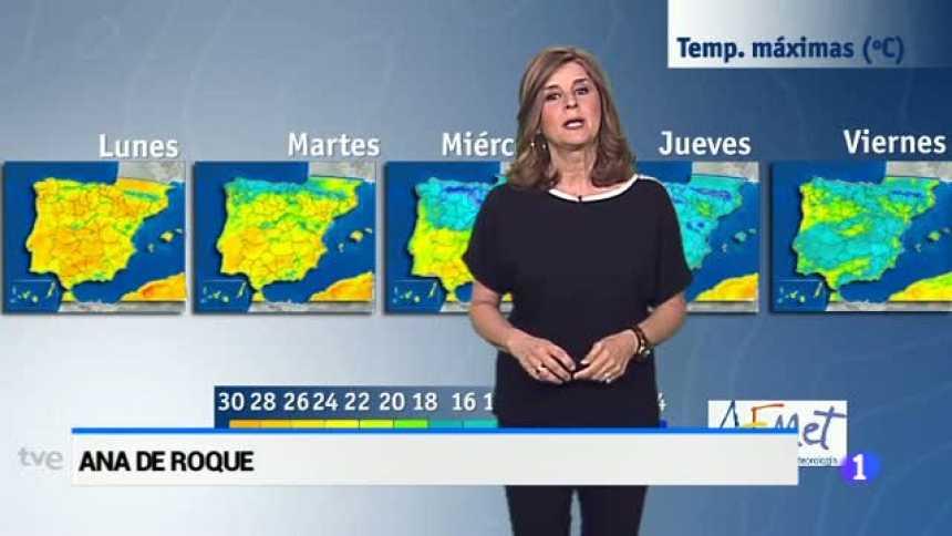 El tiempo en Andalucía - 24/04/17