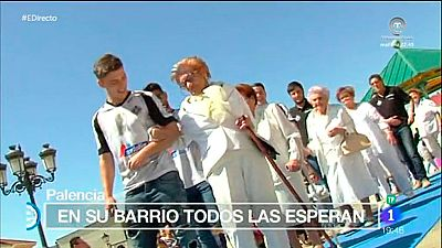 España Directo - Una pasarela dorada para un barrio de Palencia