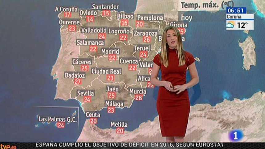Caen las temperaturas con tormentas repartidas por toda España