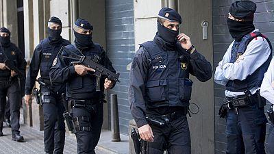 Varios detenidos en una operación contra el terrorismo yihadista y el crimen organizado en Cataluña