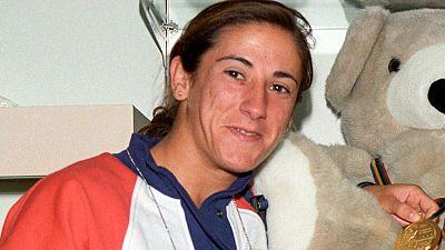 Barcelona 92. XXV Aniversario. Almudena Muñoz comenta su propio oro en judo - ver ahora