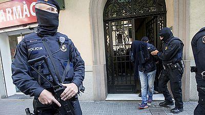 Los Mossos d'Esquadra detienen a nueve personas en una operación contra el terrorismo yihadista