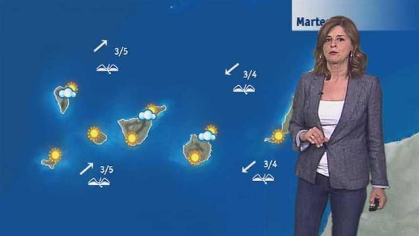 El tiempo en Canarias - 25/04/2017