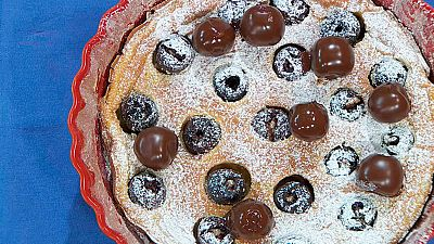 Torres en la cocina - Clafoutis de cerezas