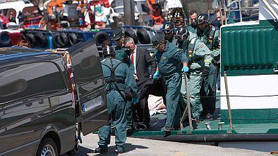 Tres marineros han muerto al chocar un pesquero contra una batea fondeada para el cultivo de mejillones