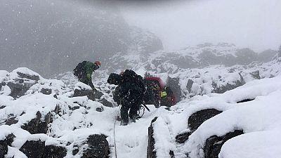 Rescatados los cuerpos de los tres montañeros fallecidos en Picos de Europa