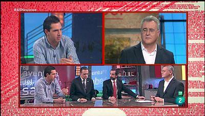 La Aventura del Saber. TVE. Taller de empresa. Diego Mazo y Carlos Mazo, Rector y Director Comercial de Universidad CEIPA de Colombia