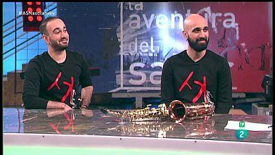 La Aventura del Saber. TVE. Entrevista con 'Nascinlansky dúo'