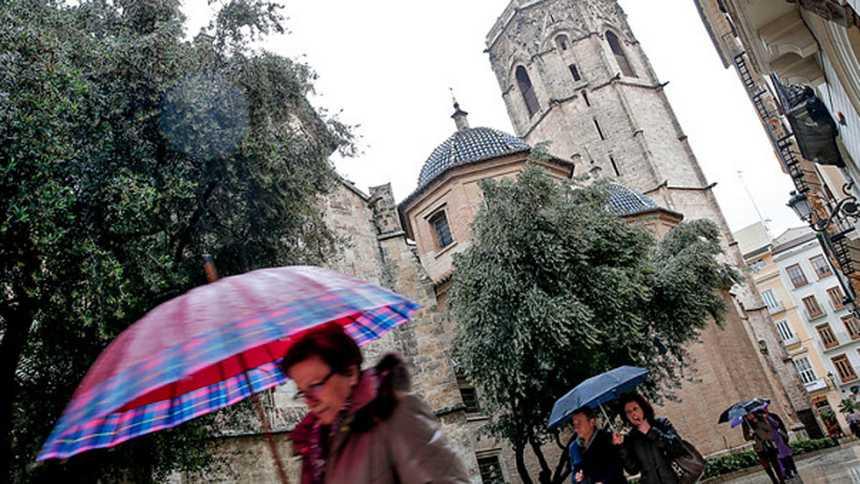 Lluvias fuertes en Andalucía, Extremadura y Castilla La Mancha