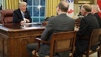 Trump asegura que es posible un conflicto a gran escala con Corea del Norte