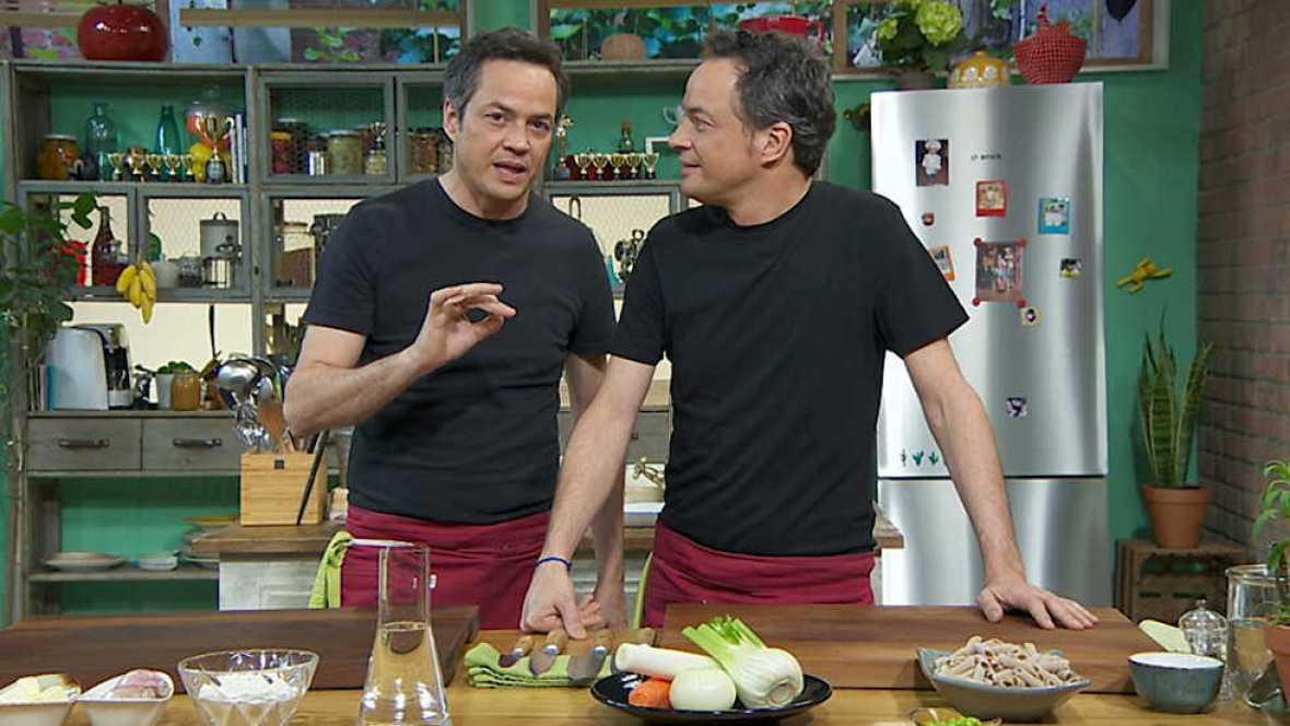 Torres en la cocina - Bogavante y macarrones con salsa de pescado - ver ahora