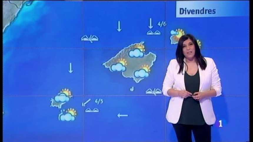 El temps a les Illes Balears - 28/04/17
