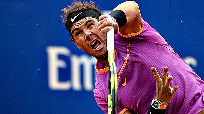 El español Rafael Nadal, vigente campeón del Barcelona Open Banc Sabadell-Trofeo Conde de Godó, se clasificó por décima vez para las semifinales del torneo, tras derrotar al coreano Hyeon Chung, por 7-6 y 6-2, en una hora y 44 minutos de juego.