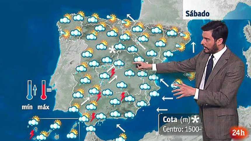 Lluvias en el sur de la península y Canarias y aumento de las temperaturas