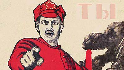 La Biblioteca Nacional británica muestra una nueva mirada sobre la Revolución rusa