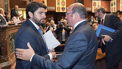 López Miras es elegido presidente de la Región de Murcia con la abstención de Ciudadanos