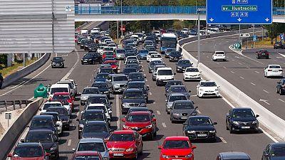 Menos congestión en las carreteras españolas