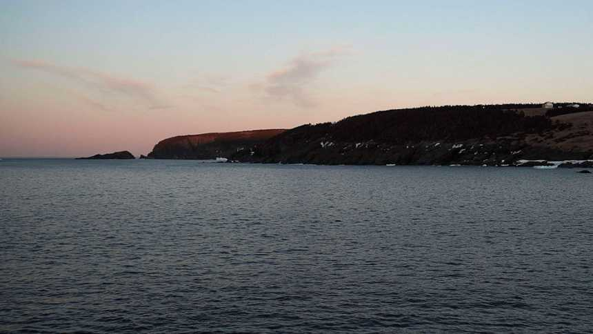 Vientos fuertes en el litoral cantábrico oriental