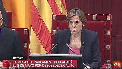 Parlamento - Otros parlamentos - Forcadell declarará - 29/04/2017