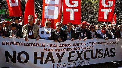 Los sindicatos salen a la calle el Primero de Mayo para reclamar empleo estable