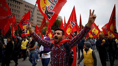 Las principales ciudades del mundo celebran el Día del Trabajo