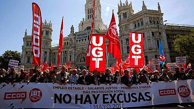 Los sindicatos piden a la patronal un acuerdo salarial durante el Primero de Mayo