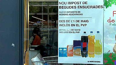 Cataluña pone en marcha un impuesto sobre las bebidas azucaradas