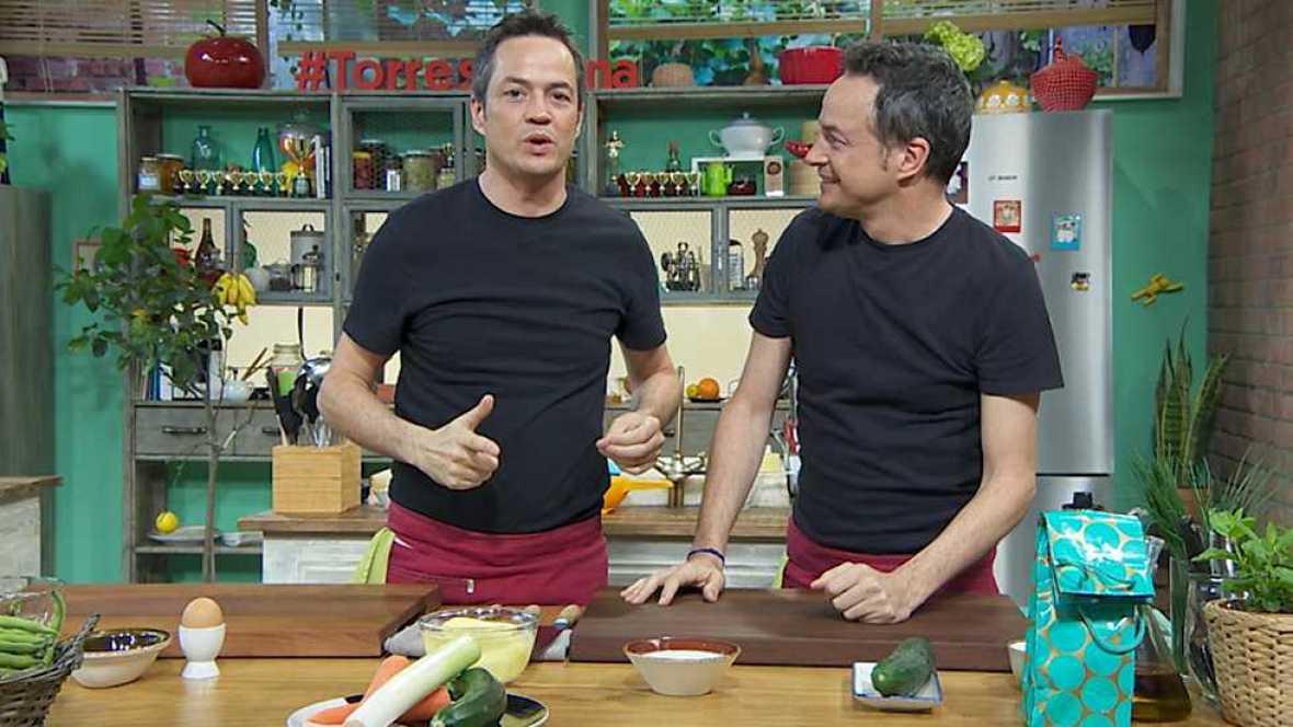 Torres en la cocina - Tortillas vegetales y marmitako - ver ahora
