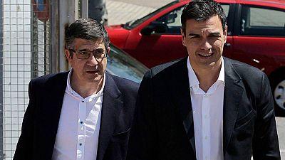 Patxi López rechaza la oferta de Pedro Sánchez para integrar sus candidaturas