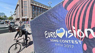La expedición española en Eurovisión hace turismo en Kiev