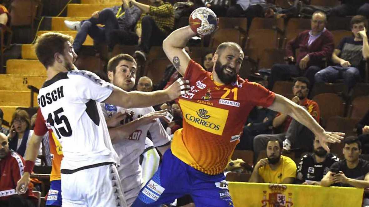 Balonmano - Clasificación Campeonato de Europa Masculino 4ª Jornada: España-Austria - ver ahora