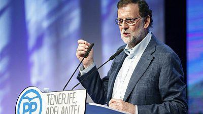 Rajoy ha participado en el congreso del PP en Tenerife