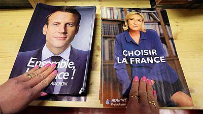 Macron se perfila como favorito en unas elecciones blindadas ante la amenaza terrorista