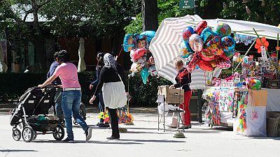 Se celebra el día de la Madre en España