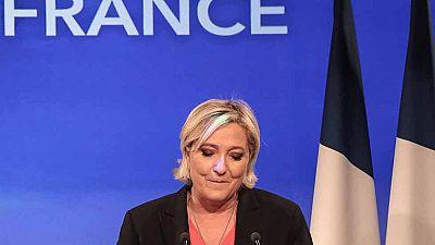Le Pen reconoce su derrota frente a Macron y anuncia una reforma de su partido