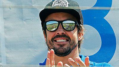 Fernando Alonso se relaja en casa antes del GP de España