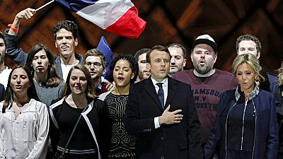 Discurso íntegro del presidente electo de Francia, Emmanuel Macron, en el Louvre