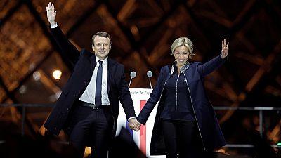 """Macron: """"Quiero que esta noche sea la de la ilusión renovada"""""""