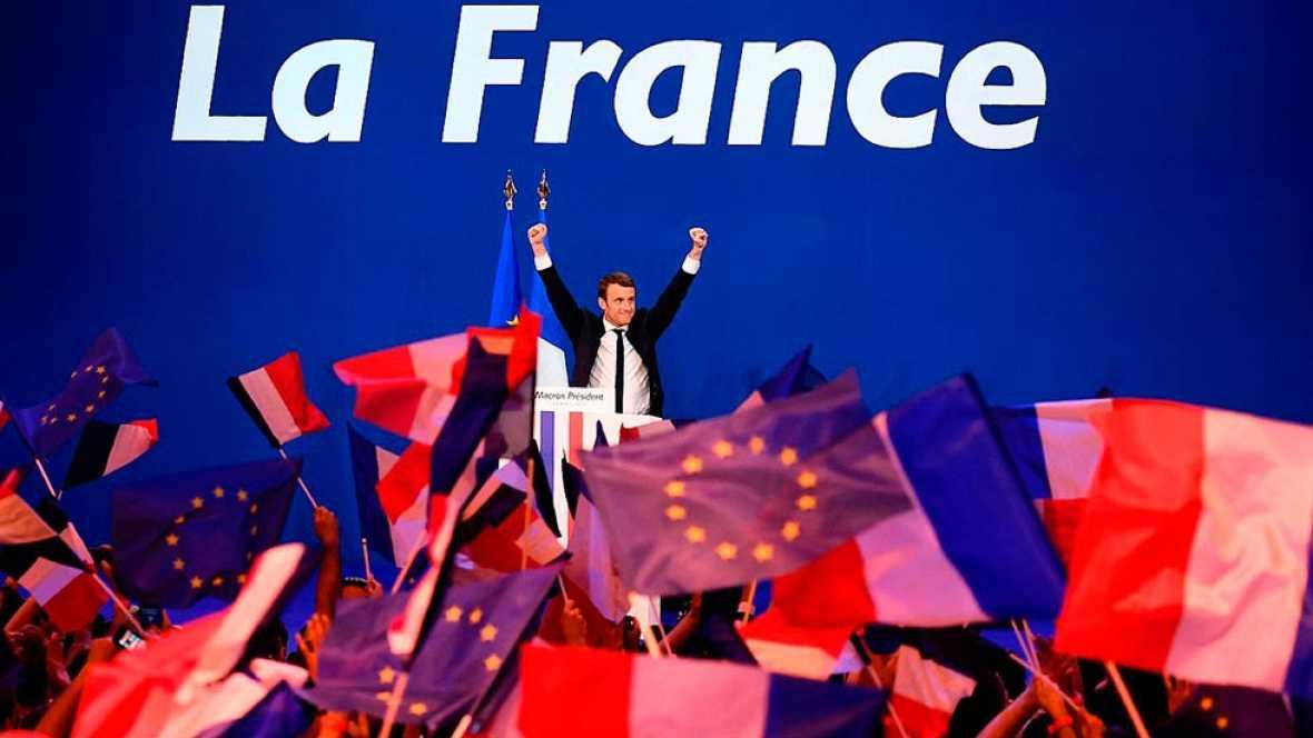Elecciones en Francia 2017 - Alivio en la UE por la victoria de Macron