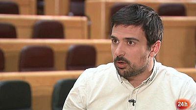 Parlamento - La entrevista - Ramón Espinar, portavoz de Unidos Podemos en el Senado - 06/05/2017