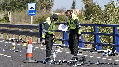 El juez ha ordenado prisión sin fianza para la mujer que arrolló a un grupo de ciclistas en Valencia