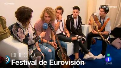 España Directo - Manel nos cuenta cómo fue su ensayo a cinco días para Eurovisión